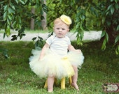Yellow Tutu Set, Yellow Tutu, Baby Tutu, Newborn Tutu, 1st Birthday Tutu, Birthday Outfit, first birthday, cake smash outfit