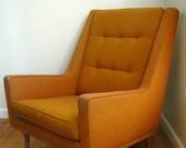 Mid Century Modern Milo Baughman Armchair for James Inc.
