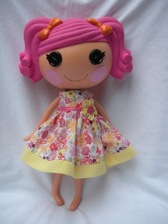 Lalaloopsy dress and bloomers set- Little Country Dress
