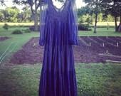 60s 70s Maxi Dress