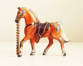 vintage lead toy horse - followmevintage