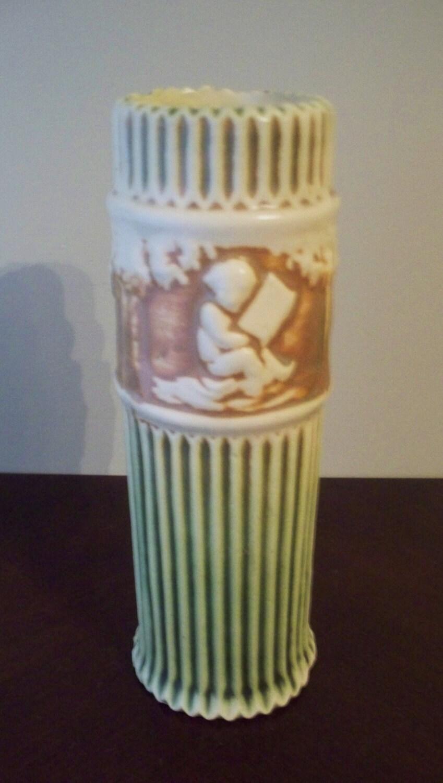 Roseville Art Pottery Donatello 8 Vase Cherubs 1915 Art