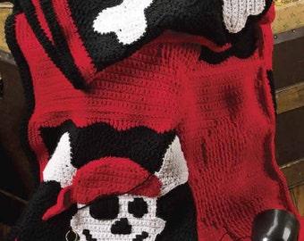 Pirate Blanket Crochet Pattern Free Crochet Patterns