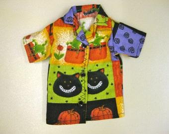 Handmade Halloween Top for Ken - Multi Color