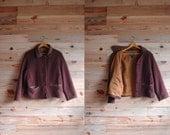 SALE / vintage woolrich jacket / brick red jacket