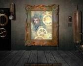 Steampunk Empress Print 8.5x11