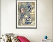 Steampunk Empress Print Variant 11x14