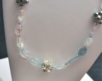 Subtle, Sweet Aquamarine Necklace