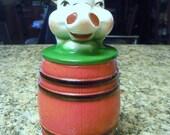Vintage Regal China Old MacDonald Pig Grease Drippings Jar