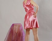 Cute Cocktail  Dress, Pink,  Size S to M, Worldwide Shipping