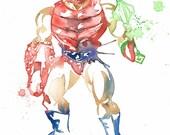 He Man MOTU Masters of the Universe Watercolor: Set 2