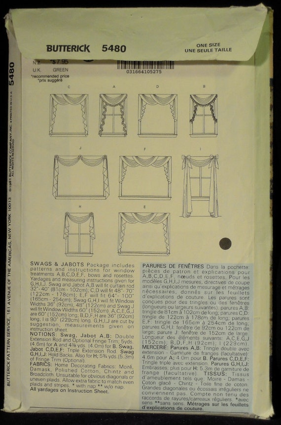 swag and jabot instructions