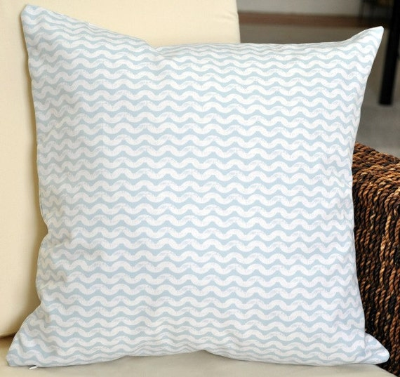 Icy Waves 18x18 Pillow Cover - Impressions by Ty Pennington