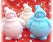 Chubby Snowman Soap