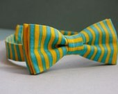Summer stripes bow tie for kids (0y - 6y)