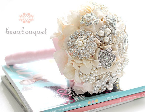 Brooch Bouquet Balance Payment for MEDIUM Size Custom Made RESERVED for jessicakennedy813