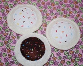 Sprinkled Play Cookie, Choose Chocolate or Vanilla, Made to Order from Eco-Fi Felt