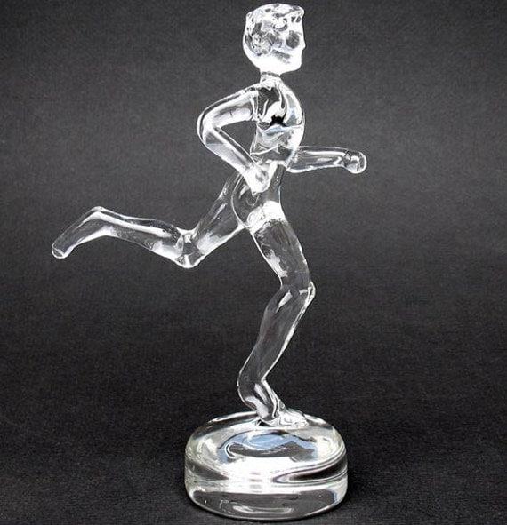 Triathlon Marathon Runner Triathlete Figurine Male