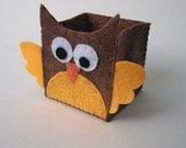 Brown Owl Folding Box
