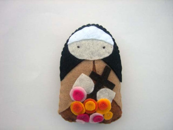 Saint Therese of Lisieux - Catholic Saint  - Doll Plushie