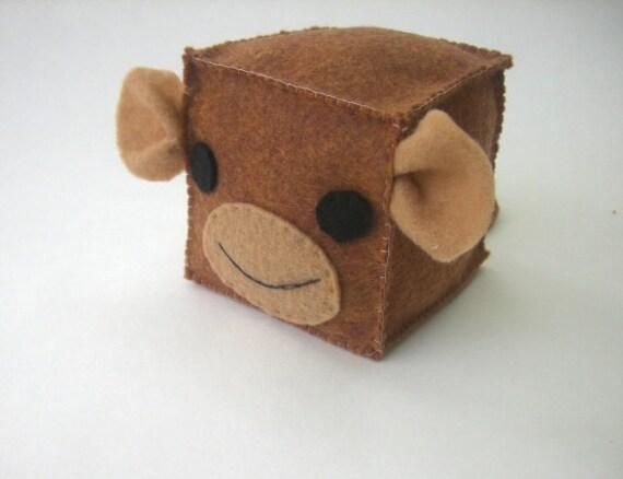 Monkey Soft Block- Baby Toy