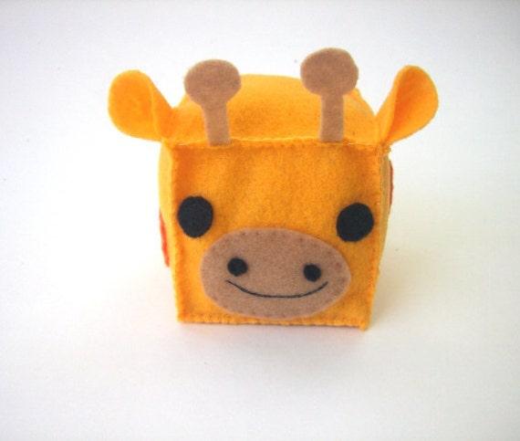 giraffe soft block baby toy. Black Bedroom Furniture Sets. Home Design Ideas