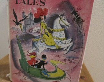 Andersens Fairy Tales junior deluxe addition book halloween witches