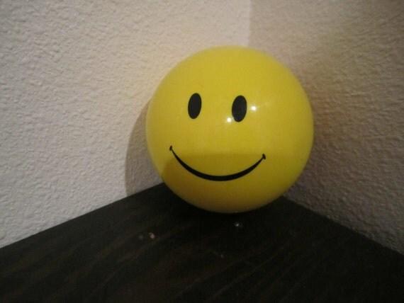 Smiley Face Magic 8 Ball Yellow