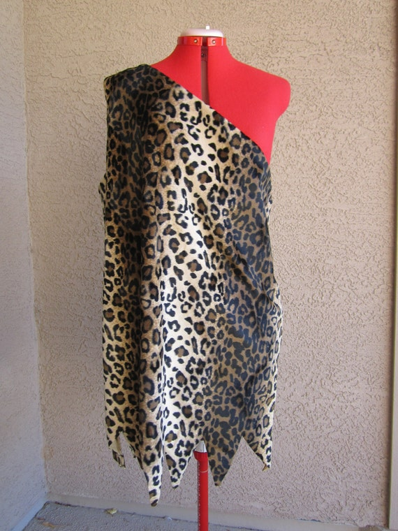Strongman Caveman Leopard Costume