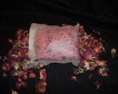 Fresh Cut Rose Bath Salt Tea Bags (2 pack)