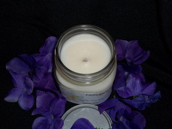 CLEARANCE - Vanilla Bean 8oz Mason Jar Candle