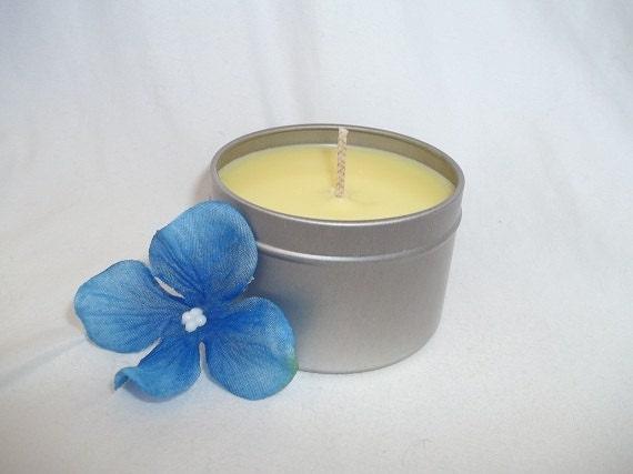 Lemon Verbena 4oz travel tin candle