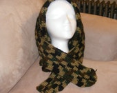 Crochet Hunter or Military Camouflage Skoodie