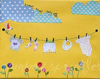 Children's Wall Art Print 8x10- baby, nursery, newborn, Nursery Room Decor, Kids Art, baby shower gift