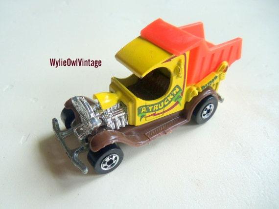 Vintage Hot Wheels Dump Truck 1977