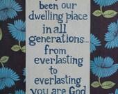 Dwelling Place- Mixed Media Print