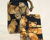 "Gataki Cat Tarot Bag & Little ""White"" Book"