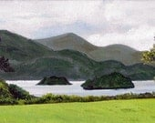 Irish Landscape - OOAK oil painting
