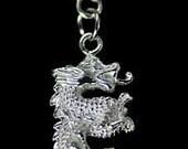 dragon charm european bead sterling silver .925 jewelry Real Sterling silver 925 pendant Charm jewelry