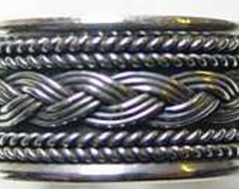 SS-0826 Sterling Silver CELTIC INFINITY Knot Ring Weave Pick Your Ring Size We Have Sizes 3 to 14