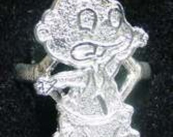 sterling silver 925 baby rugrats tommy pickles  jewelry Real Sterling silver 925 pendant Charm jewelry