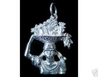 indonesia offer god buddha temple pendant charm jewelry Real Sterling silver 925 pendant Charm jewelry