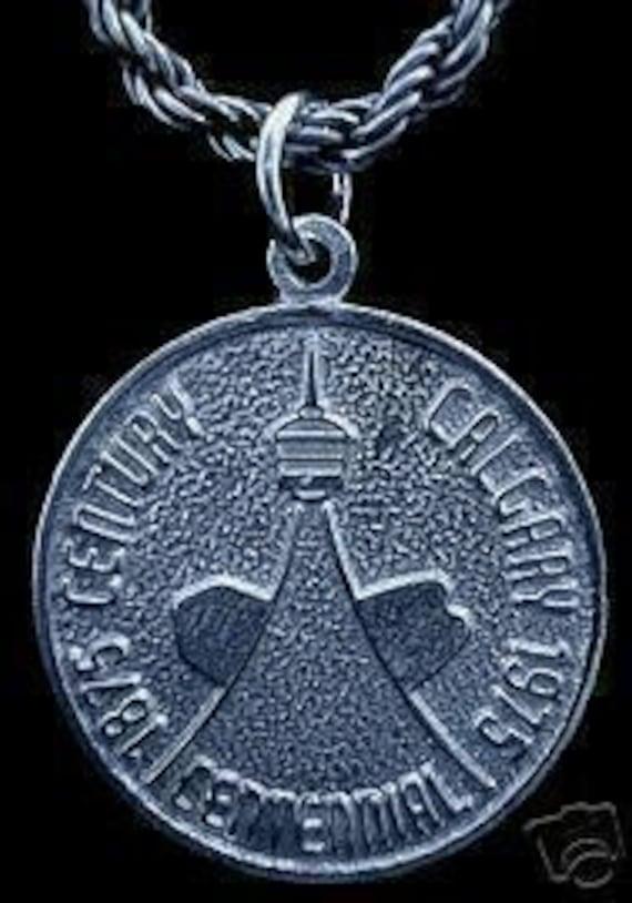 calgary alberta centennial silver charm by princeofdiamonds