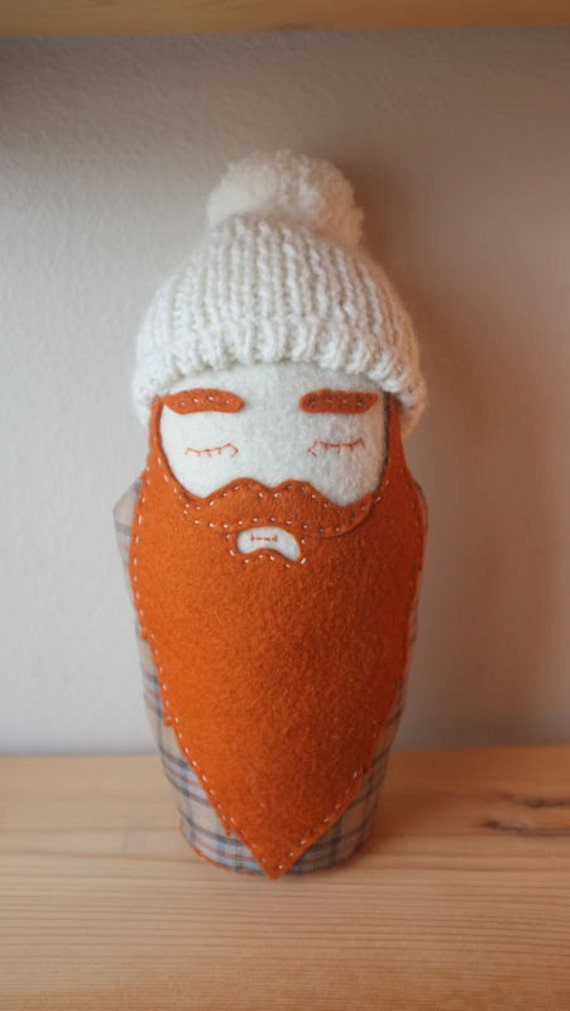 Rufus - Matryoshka Lumberjack Plushy