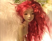Porcelain Ball Jointed Doll, OOAK Art Doll