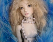 Reserved for Maria: Porcelain Ball Jointed Doll, OOAK Art Doll