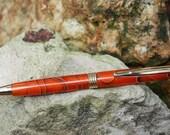 Custom Tangerine Acrylic Toni Style Pen