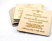 Monogram Typography Wedding Invitation