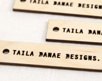 I See You Wooden Laser Cut Tags (50 qty)
