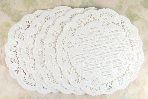 Paper Lace Doilies-set of 25